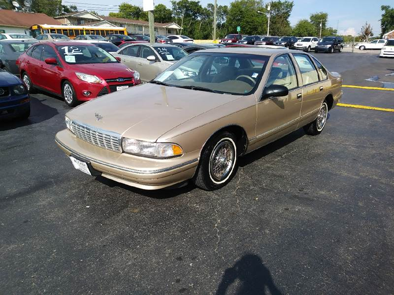 1996 chevy caprice used cars in nashville pre owned vehicles low down payments. Black Bedroom Furniture Sets. Home Design Ideas