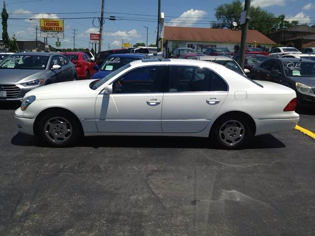 2001 lexus ls430 used cars in nashville pre owned vehicles low down payments. Black Bedroom Furniture Sets. Home Design Ideas