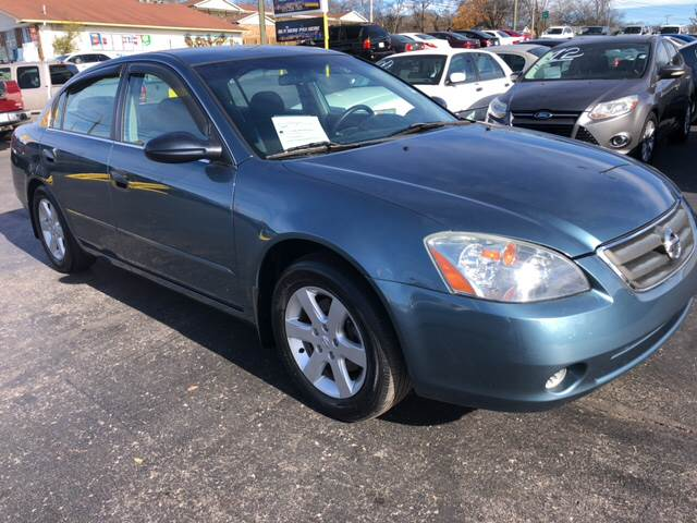 2002 Nissan Altima 2.5 S 4dr Sedan