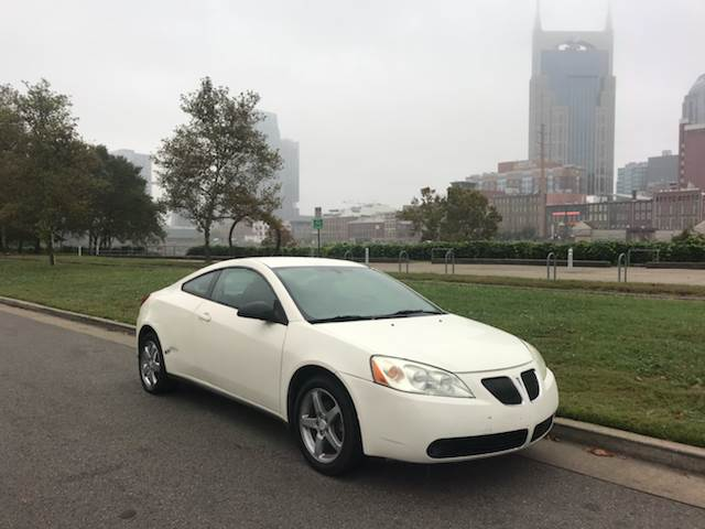 2006 pontiac g6 coupe used cars in nashville pre owned vehicles low down payments. Black Bedroom Furniture Sets. Home Design Ideas