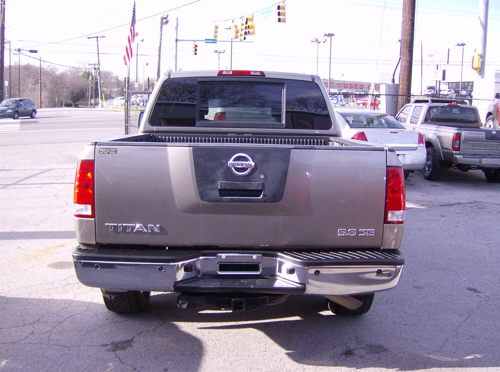 2007 nissan titan used cars in nashville pre owned vehicles low down payments. Black Bedroom Furniture Sets. Home Design Ideas