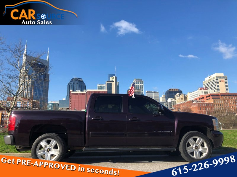 2008 chevrolet silverado 1500 ltz used cars in nashville pre owned vehicles low down payments. Black Bedroom Furniture Sets. Home Design Ideas