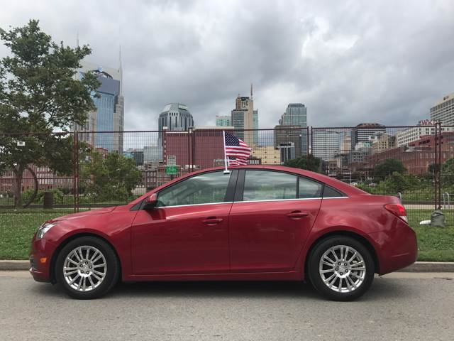 2012 chevy cruze eco used cars in nashville pre owned vehicles low down payments. Black Bedroom Furniture Sets. Home Design Ideas