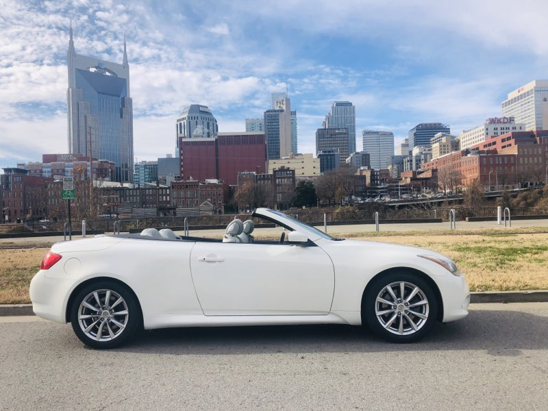 2012 infiniti g37 convertible base used cars in nashville pre owned vehicles low down payments. Black Bedroom Furniture Sets. Home Design Ideas